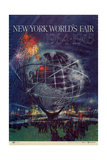 Center Warshaw Collection Centennial Expositions  New York World's Fair