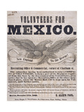Mexican War Broadside  National Museum of American History