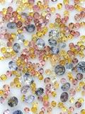 Yogo Sapphires on White