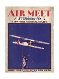 Air and Space: Air Meet Program Cover