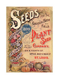 Seed Catalog Captions (2012): Plant Seed Company  St Louis  Missouri