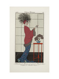 Smithsonian Institution Libraries: Costumes Journal des dames et des modes  Plate 35