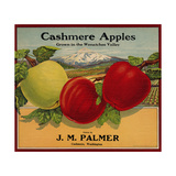 Warshaw Collection of Business Americana Food; Fruit Crate Labels  J M Palmer