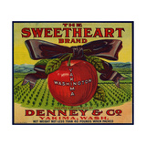 Warshaw Collection of Business Americana Food; Fruit Crate Labels  Denney & Co