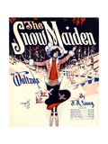 "Sheet Music Covers: ""The Snow Maiden"" Composed by F H Losey  1920"
