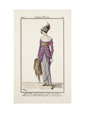 Smithsonian Institution Libraries: Costumes Journal des dames et des modes  Plate 24