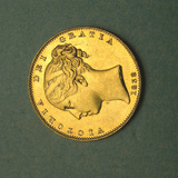 1 of 2 Remaining Coins of Jame's Smithson's Donated Fortune  National Museum of American History