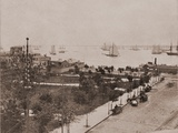 Castle Garden Immigration Station in NYC  Ca 1895
