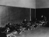 US Army Field Hospital in Hollerich  During the Spanish Flu Epidemic 1918-19