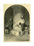 Russian Political Prisoner in Dungeons Fortress of Schlusselburg  18-19th Century