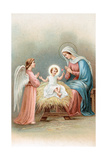 Greeting Cards  Holiday Madonna and Child with Angel