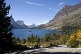 Saint Mary Lake at Glacier National Park  Montana  2005