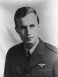 Future US President George HW Bush as a Navy Pilot During World War II  Ca 1942