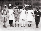 African American First Graders Learn to Brush their Teeth in School  1910