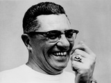Vince Lombardi Coach of the Green Bay Packers Football Team in 1967