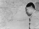 Major General Leslie Richard Groves after First Use of Atomic Bomb in Hiroshima and Nagasaki  1945