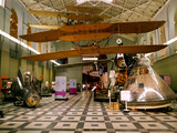 Air and Space: North Hall in the Arts and Industries Building  Wright 1903 Flyer Hanging Overhead