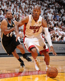 Miami  FL - JUNE 6 Ray Allen and Gary Neal