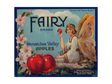 Fruit Crate Labels: Wenatchee Valley Apples; Fairy Brand