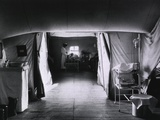 American National Red Cross Tent Hospital in France During World War I  1917-18