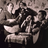 Fado Singer in Portuguese Night Club  1946