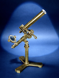 Natioal Museum of American History - Science and Invetions: Brass Monocular Spencer Microscope