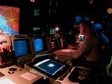 Naval Officer Monitors Persian Gulf in No-Fly-Zone over Southern Iraq  Feb11 1998