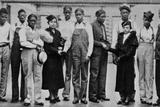 Juanita Jackson of the NAACP Visiting Scottsboro Boys  in Alabama  Nov 1936