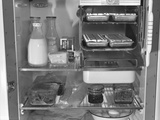 Interior of a 1940's Refrigerator