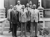 Brotherhood of Sleeping Car Porters Meeting in 1930s