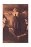 Salem Magistrates Examine of Rebecca Nurse  During Salem Witch Trials  1692