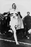 Roger Bannister Achieving the Four-Minute Mile  Oxford  Uk  May 6  1954
