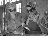 Daytona Beach  Florida  Housewives Welding in an Aircraft Construction Class  1942