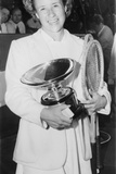 Maureen Connolly after She Won Her First US Women's Singles in 1951 at Age 16