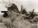 Abandoned French Machinery at the Site of the Panama Canal  Ca 1905