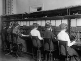Female Telephone Operators at a Switchboard in Washington  DC  Ca  1915