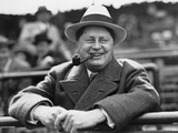 William Wrigley  Chewing Gum Mogul Watching His Chicago Cubs Play  1925