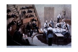 Operating Room Amphitheater of the Massachusetts General Hospital  Boston  1888