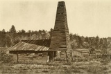 The Original 1859 Drake Oil Well in Titusville  Pennsylvania  the 1st Ever Drilled in the US