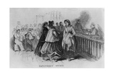 Women Immigrants at NYC's Castle Garden Employment Office  1866