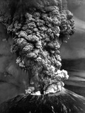 Mount St Helens in Eruption on May 18  1980