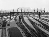 Union Station Switch Yards in Washington DC  Ca 1907-1910