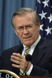 Donald Rumsfeld in Press Briefing About Operation Iraqi Freedom  Apr 7  2003