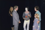 President Jimmy Carter  Rosalynn Carter and Amy Carter with Marcel Marceau  1977