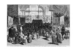 Hanukkah Celebration of Young Men's Hebrew Association  NYC  1879