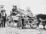 American Family on the Move During the Civil War in 1862 Photo by Geo Barnard