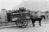 European Immigrants in Horse-Drawn Wagon  Buenos Aires  Argentina  Ca 1910