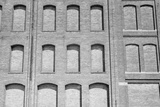 Factory Windows Bricked Up During the Great Depression  Minneapolis  1939