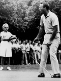 Arnold Palmer  Reacting to a Missed Put at the Westchester Country Club in 1964