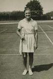 Helen Jacobs  American Tennis Player Won Ten Grand Slam Titles  1934